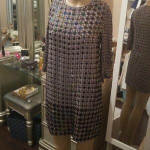 French Connection rhinestone dress